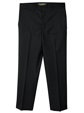 Amazon.com: Spring Notion Boys' Flat Front Dress Pants: Clothing