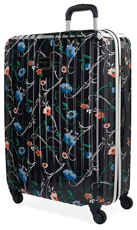 bc32a0997fe Pepe Jeans Pasqui Suitcase, 67 cm, 72 liters, Multicolour (Multicolor)