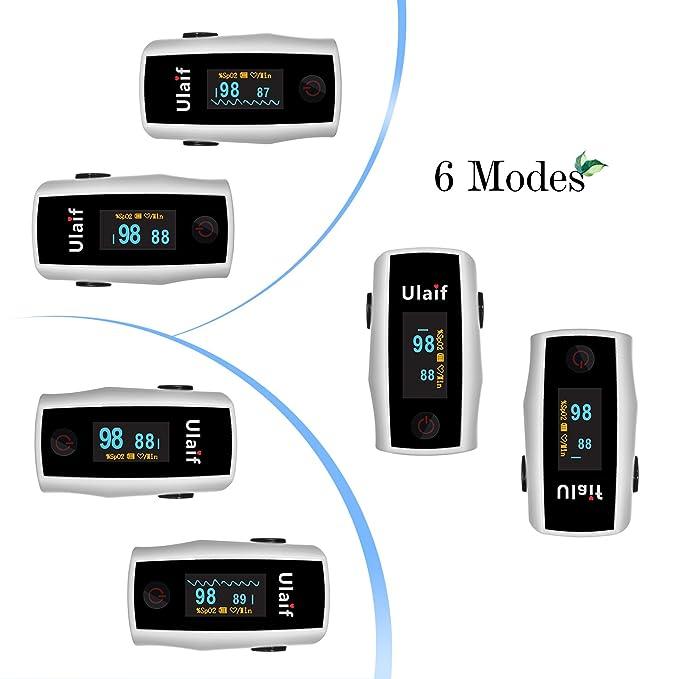 Aeon Technology A300 Fingertip Pulse Oximeter Blood Oxygen ...