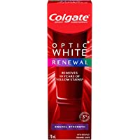 Colgate Optic White Renewal Enamel Strength Teeth Whitening Toothpaste - 70 mL