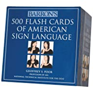 Barron's 500 Flash Cards of American Sign Language