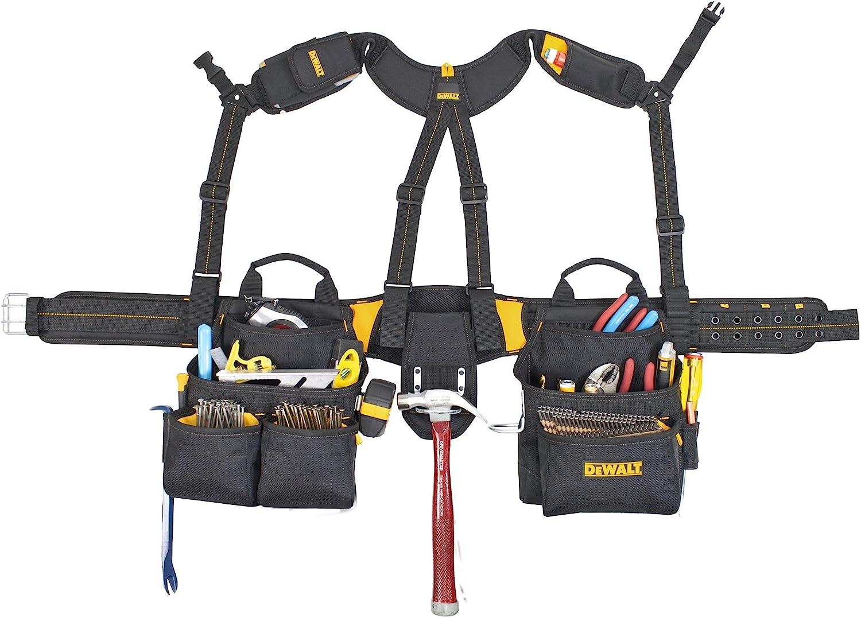 Dewalt DG5617 Tool Belt and Yoke-Style Suspenders