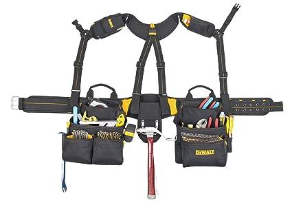 dewalt dg5617 20-pocket pro framer's combo apron tool belt and yoke ...