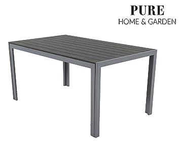 Amazonde Pure Home Garden Aluminium Gartentisch Fire Xl Mit
