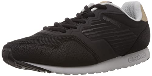 Black Mesh Running Shoes