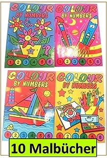 Mini A6 Doodle Aufgaben Bücher Muster Malen Kinder Party
