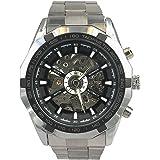 Winner - Herrenuhr - Automatik Uhr - Skelett - Edelstahl Armbanduhr