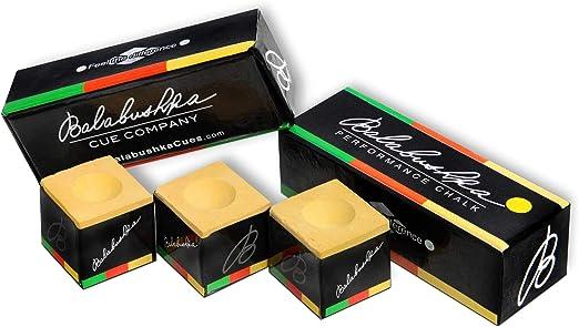 George Balabushka Billiard Pool Cue Chalk - Best For Increased Draw