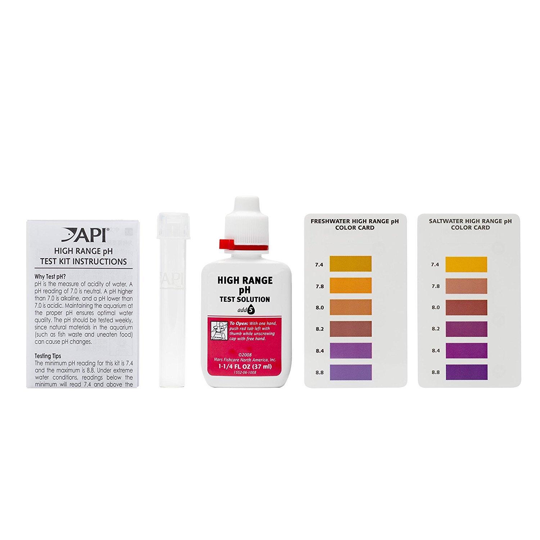 160 Tests, High Range Ph Test Kit API