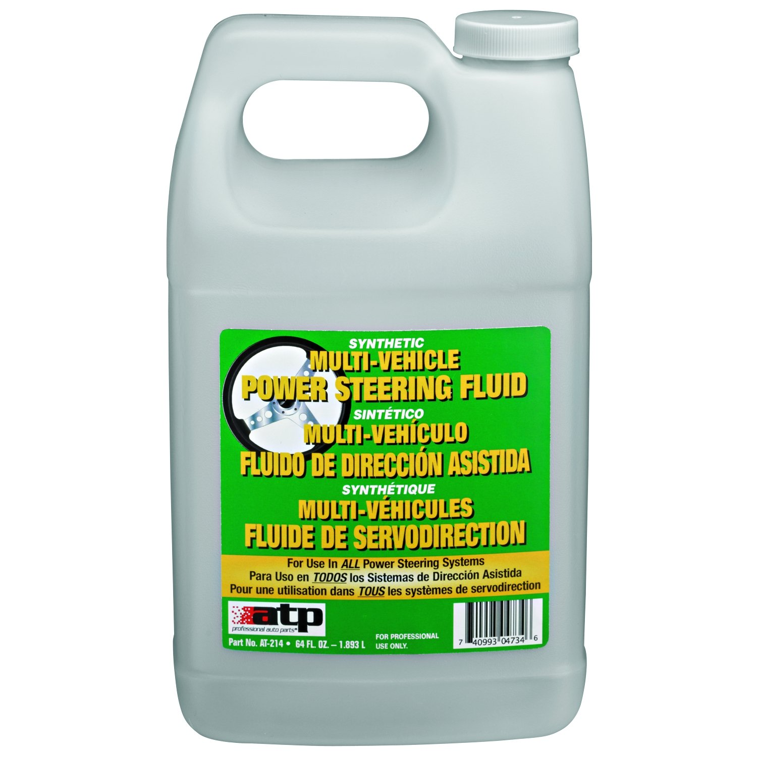 ATP Automotive AT-214 Synthetic Power Steering Fluid