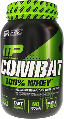 MusclePharm Combat 100 Whey Chocolate Milk 2 pound