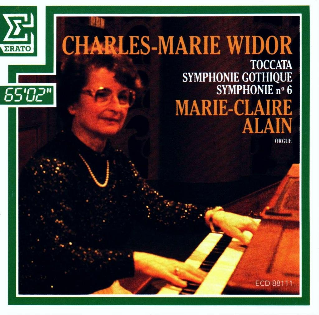 Widor: Toccata Symphony No. 5 Minor C Gothique Free Shipping New in Year-end gift Symphonie
