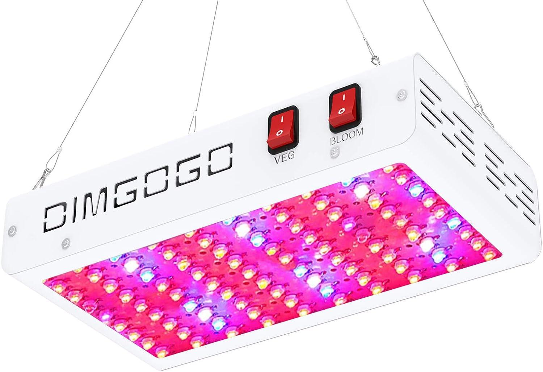 Dimgogo 1000w LED Grow Light Double Chips Full Spectrum