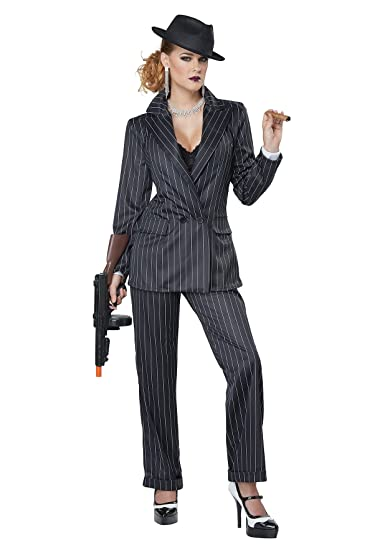 Gangster Costumes & Outfits | Women's and Men's California Costumes Womens Plus Size Queen of The High Seas Adult Woman Costume  AT vintagedancer.com