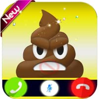 Angry Poop Calling You - Free Fake Phone Call PRO 2019
