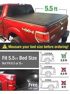 Amazon.com: Lund 95072 Genesis Tri-Fold Tonneau Cover: Automotive