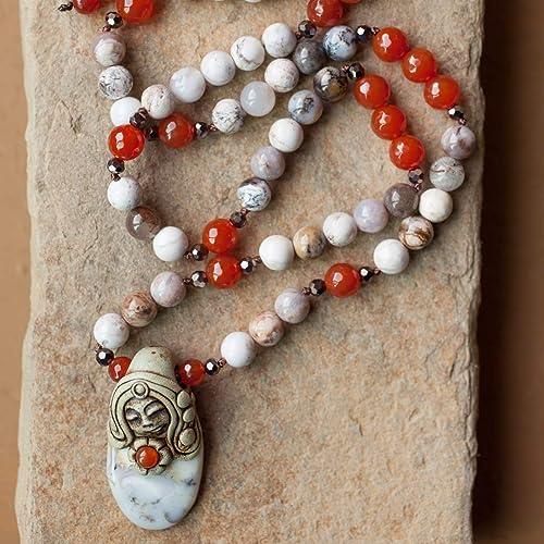 Goddess Bead necklace