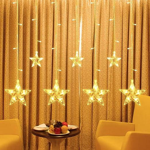 Guirnalda luminosas 2.2 M 108 LEDs Estrellado LED Guirnaldas cadena de luces con 8 modos de