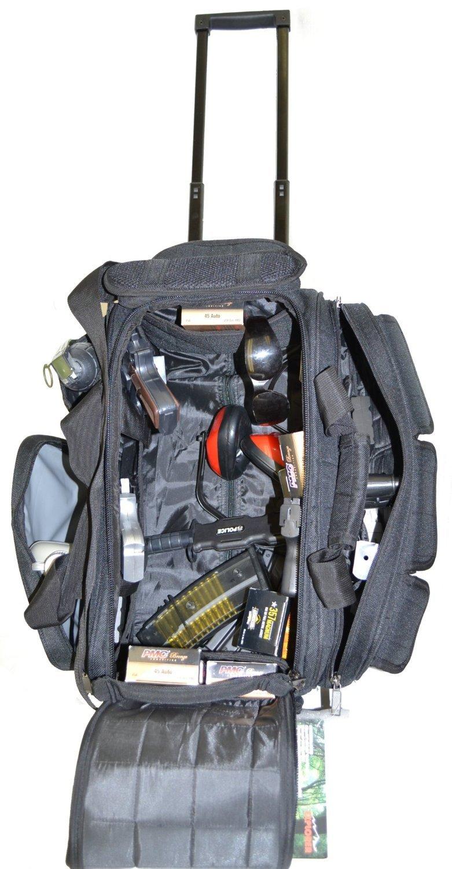 EXPLORER Wheeled RR29 Range Bag Assault Gear with Sling Hiking Shoulder Backpack EDC Camera Bag MOLLE Modular Deployment Compact Utility Military Surplus Strap by Explorer