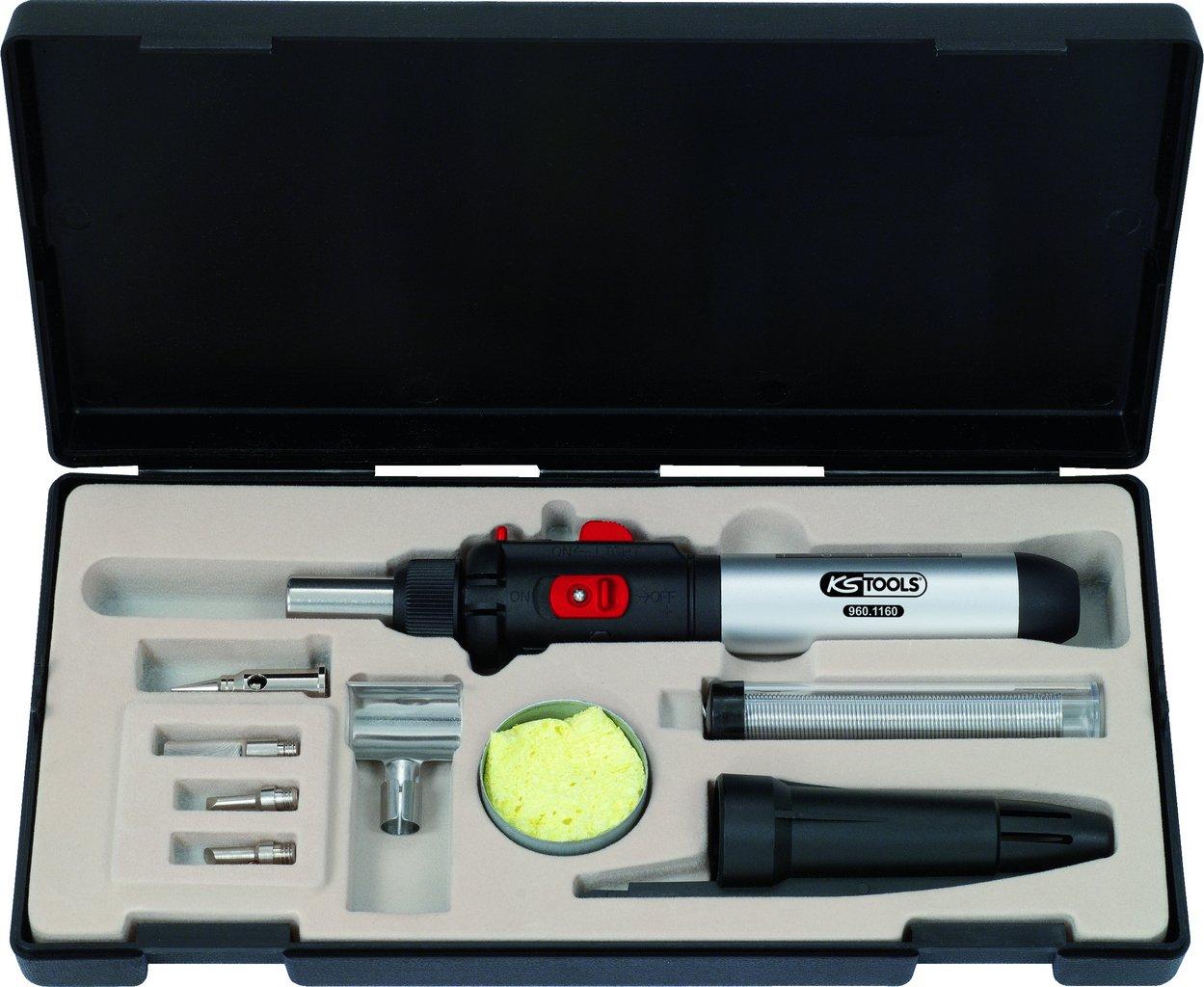 KS Tools 960.1160 Juego de microsoldadura, 10 pzs. 4042146390191