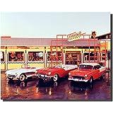Art Decorative Home interior design 3788 Oldsmobile Vintage Car Ad Poster