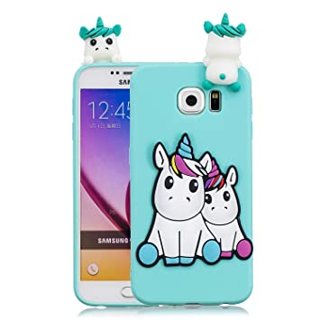 coque galaxy s7 edge licorne