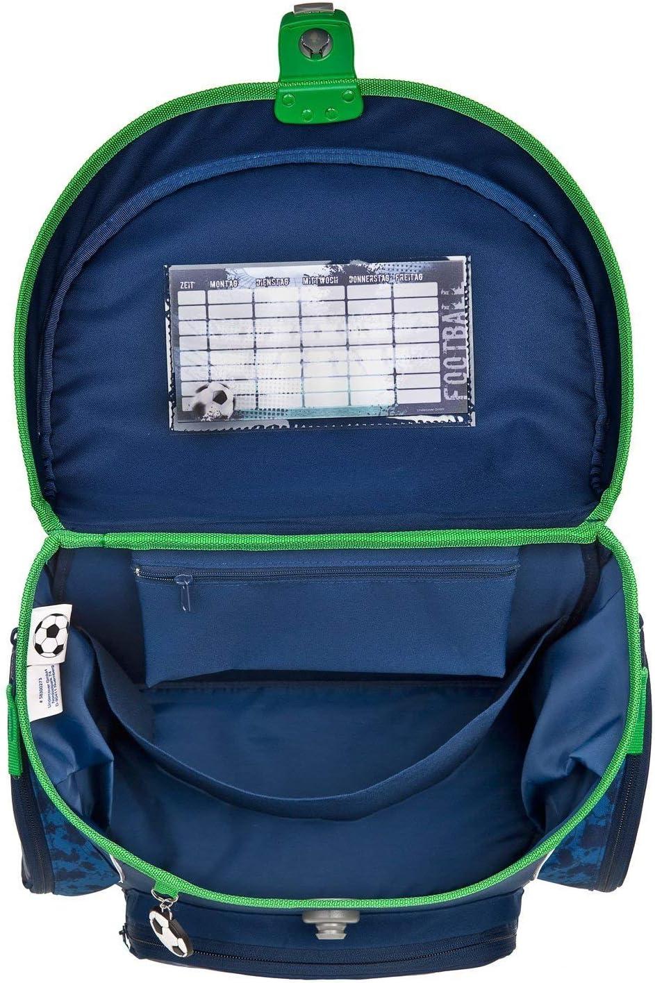 Scooli Campus Fit Ranzen 1 Kinder Schulranzen Set 7tlg Klasse mit Sporttasche