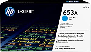 HP 653A | CF321A | Toner Cartridge | Cyan