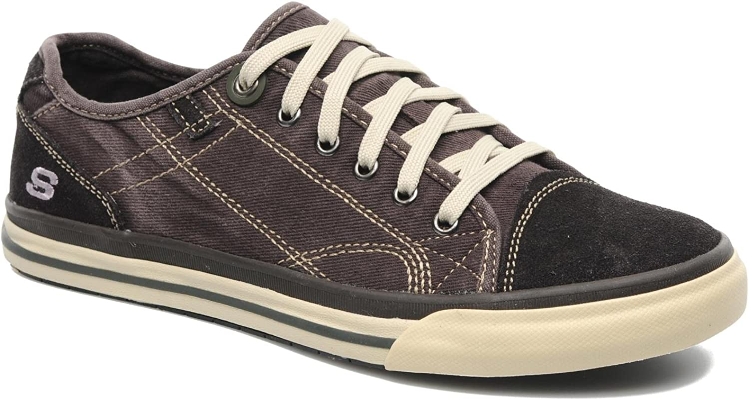 hormigón Accesorios adjetivo  Skechers Mens Relaxed Fit: Diamondback - Levon Trainers Brown (9):  Amazon.co.uk: Shoes & Bags