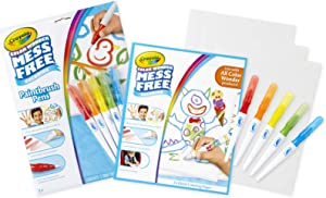 Crayola Color Wonder Mess Free Paintbrush Pens & Paper, Painting for Kids, Gift
