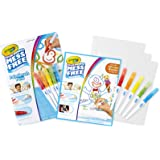 Crayola Color Wonder Mess Free Paintbrush Pens and Paper, Painting for Kids, Gift