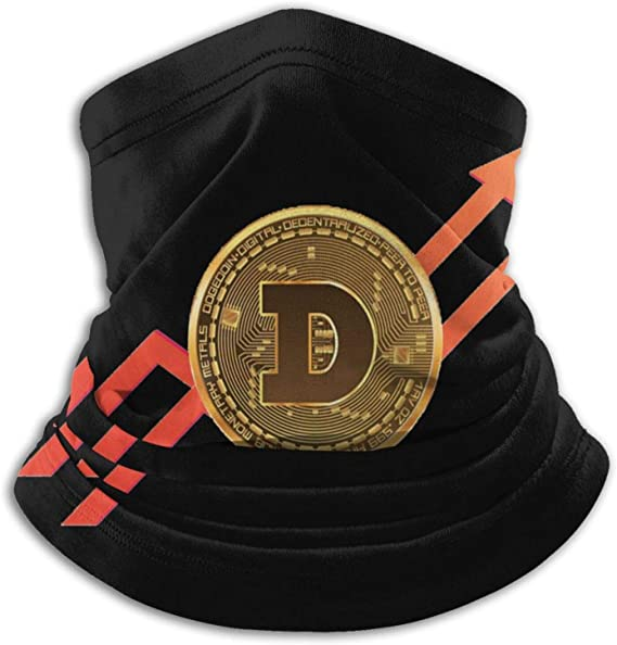 Dogecoin To The Moon Stock Market Stonks Meme Windproof Headwrap Unisex ...