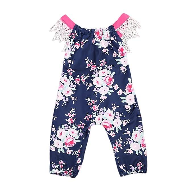 8937868519ea Amazon.com  Infant Baby Girls One Piece Romper