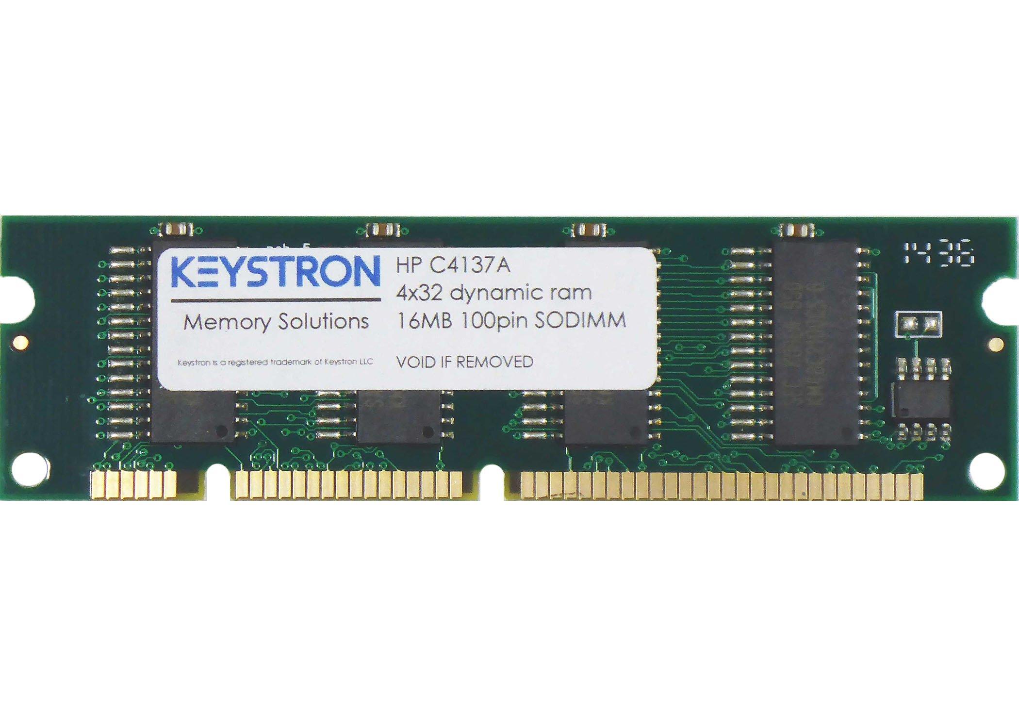 Keystron 16MB Printer Memory Upgrade for HP Laserjet 1100 1100A /A/Se/Xi (P/N: C4137A) by Keystron