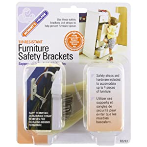 Mommy's Helper Furniture Brackets (Pack of 8)