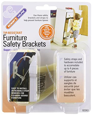Exceptionnel Mommyu0027s Helper Tip Resistant Furniture Safety Brackets