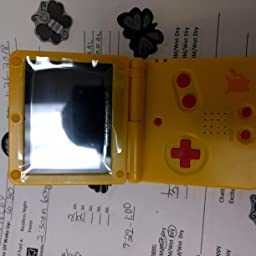 Amazon Com Nintendo Gameboy Advance Sp Limited Edition Pikachu Yellow Video Games