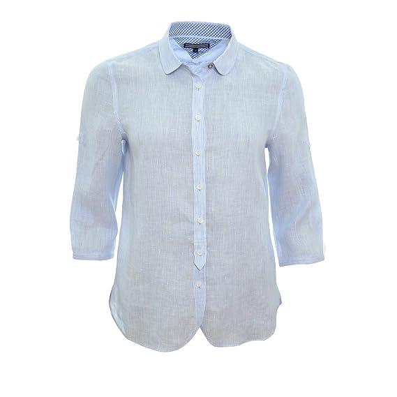 Tommy Hilfiger Hemd Tommy Hilfiger Salia Blau Fur Damen Gr 36