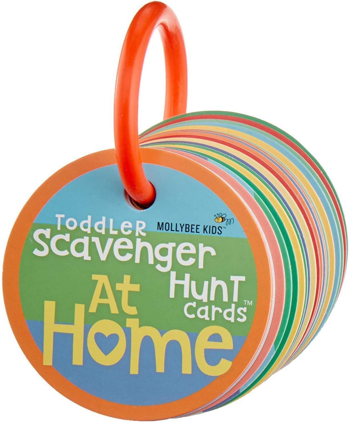 Toddler Scavenger Hunt Cooperative Card Game at Home - Interactive, Educational, and Mobile First Game Toy for Toddlers Boys Girls Kids 2 3 and Up