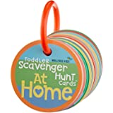 Mollybee Kids Toddler Scavenger Hunt Cards at Home - Cooperative, Educational, and Mobile First Preschool Game for Kids 2+