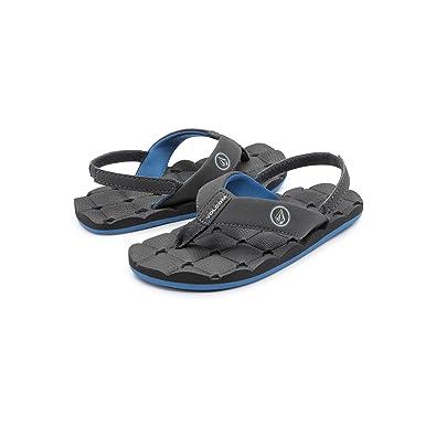 ec638d6ca47b Volcom Boys  Recliner Youth Sandal Flip Flop