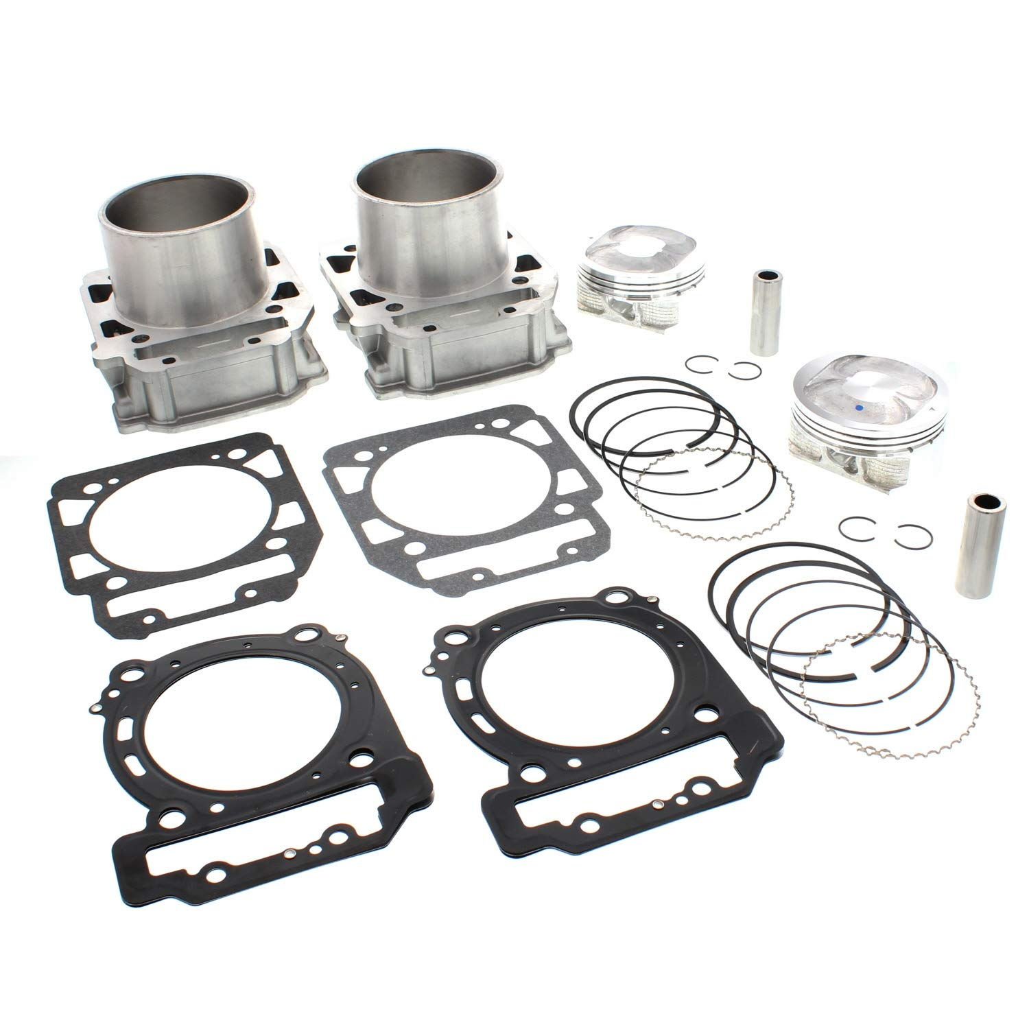 NICHE Front Rear Cylinder Piston Set for Bombardier BRP Can-Am Commander 800 2011-2016 Niche Industries