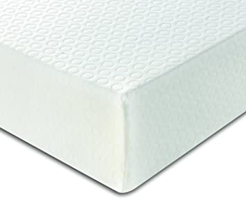 DuraTribe orthosmart Reflex colchón de espuma con funda desmontable para mujer – 15 cm de profundidad