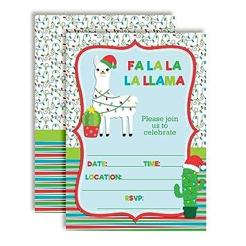 amazon com fa la la la llama themed holiday christmas birthday