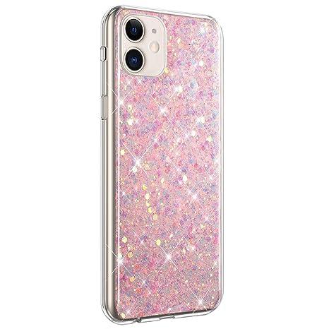 Surakey - Carcasa de silicona para iPhone 11, transparente ...