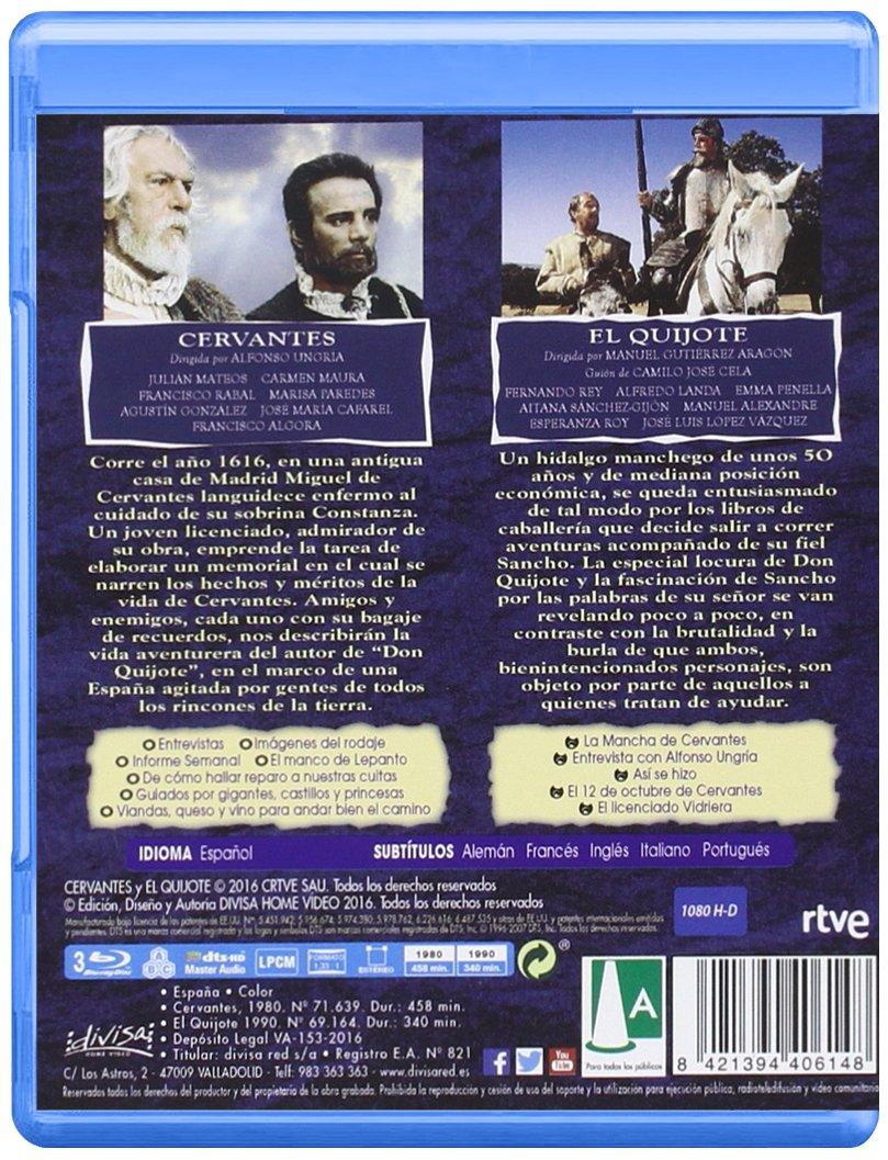 Amazon.com: Cervantes y El Quijote. El autor y su obra [Non ...