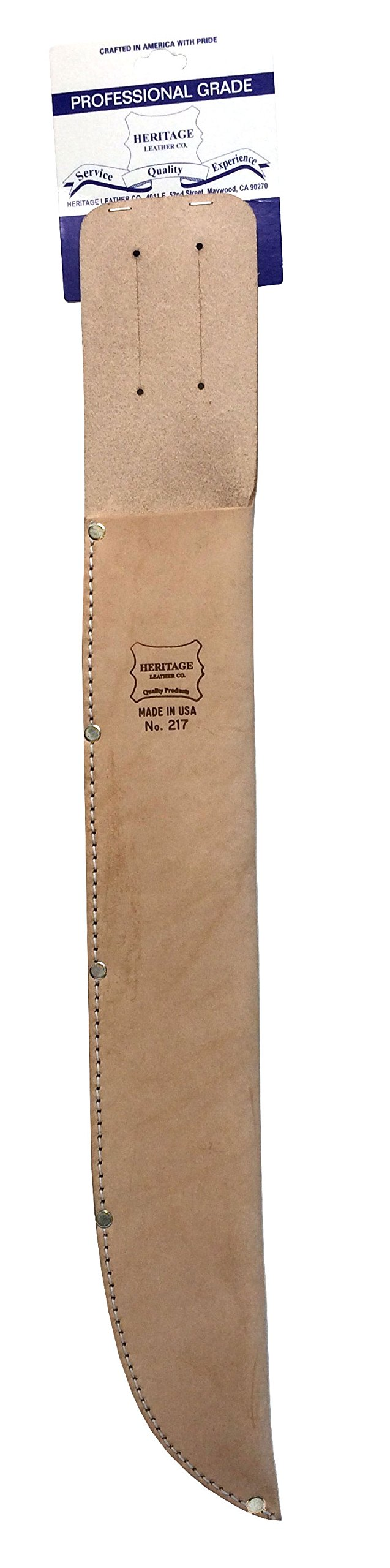 17'' Machete Sheath by Heritage Leather