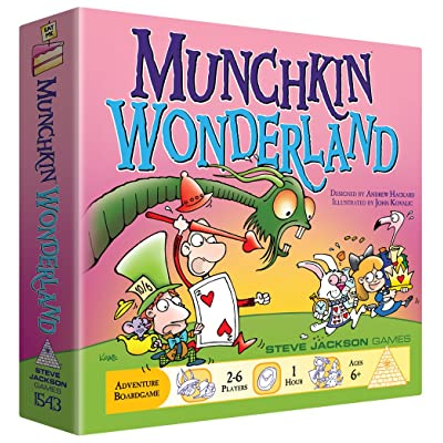 Steve Jackson Games Munchkin Wonderland Board Game: Toys & Games