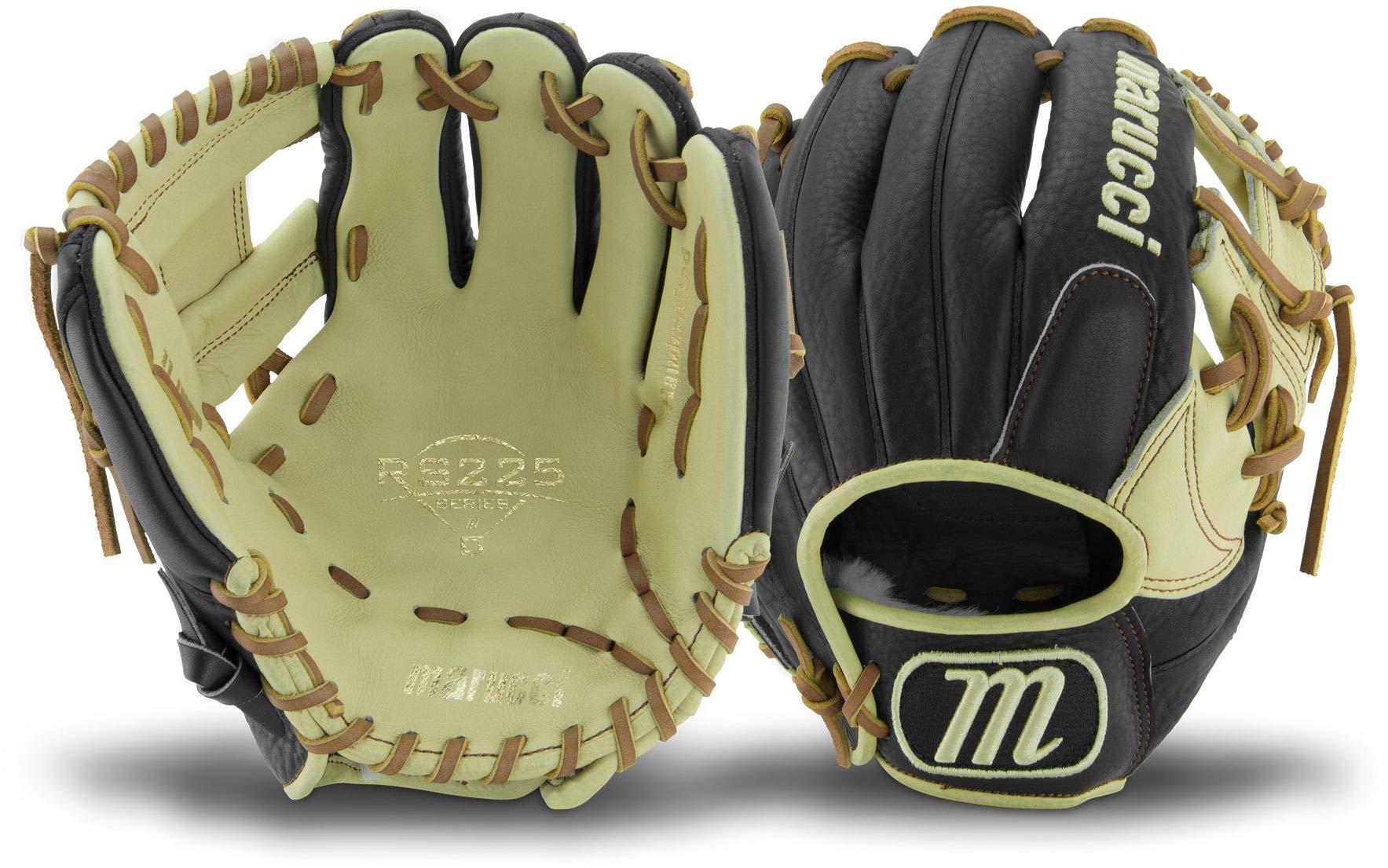 Marucci MFGRS11I-BK/MS-LH RS225 Series Baseball Fielding Gloves, Black/Mesa, 11'' by Marucci (Image #1)