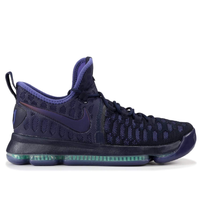 premium selection 8b6e6 51708 Galleon - NIKE Kids Zoom KD9 (GS) Basketball Shoes (3.5 M US Big Kid,  Obsidian Dark Purple Dust Black)